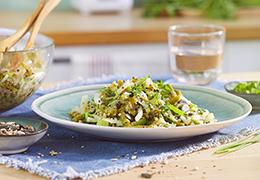 Recette de salade quinoa bio
