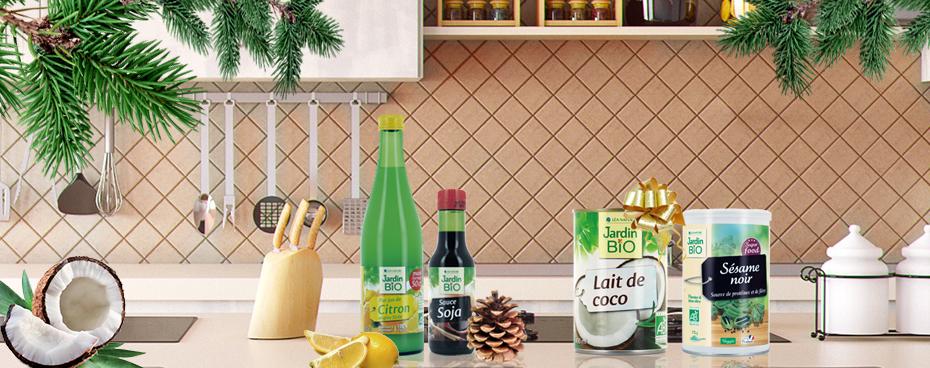 Aides culinaires pour Noël Jardin BiO