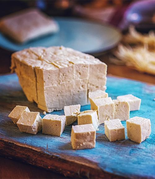 carpaccio tofu recommandation recette jardin bio
