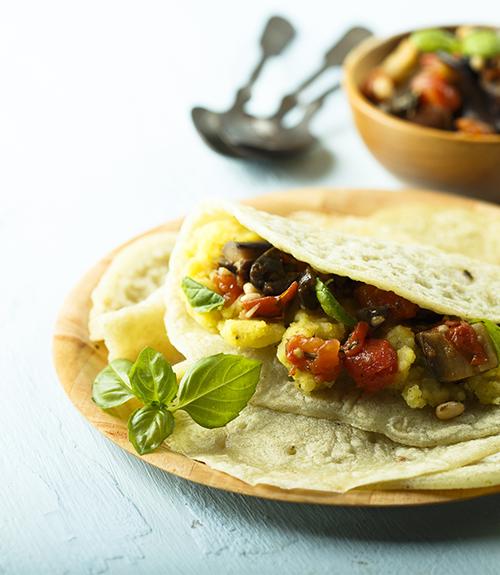 recommandation des chapatis recette jardin bio fait maison avec ristes d'aubergines