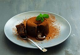 fondant chocolat coeur coulant recette Jardin BiO étic