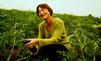 Découvrez Florence, productrice de courgettes bio pour Jardin BiO étic