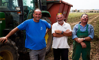 Sergio producteur de tomates bio pour Jardin BiO