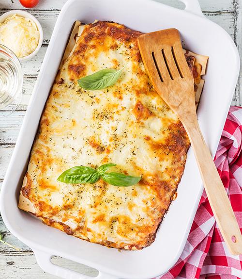 recommandation des lasagnes aux légumes jardin bio