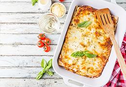Image représentant la recette de lasagnes aux légumes express