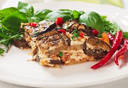 moussaka végétarienne recette Jardin BiO étic