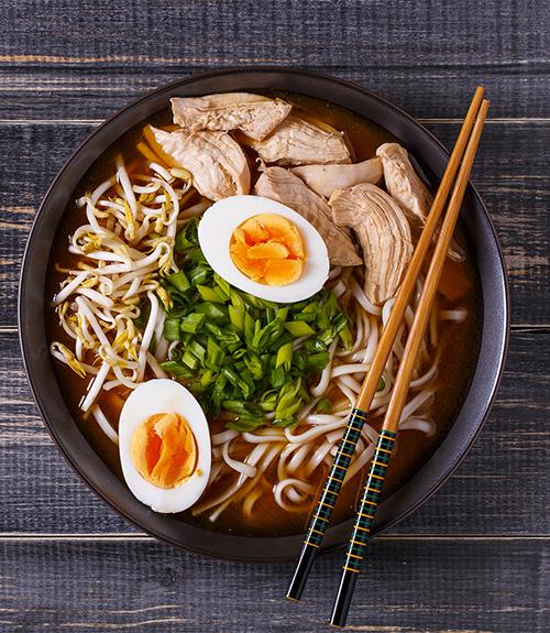 image recommandation recette jardin bio nouilles udon