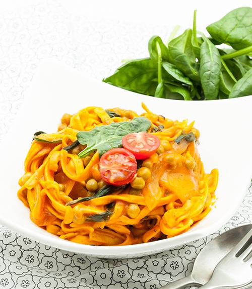 recette one pot pasta Jardin BiO étic