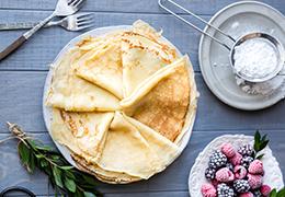 Image recette pâte à crêpes bio