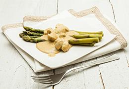 poulet asperges Jardin BiO étic sauce soja recette