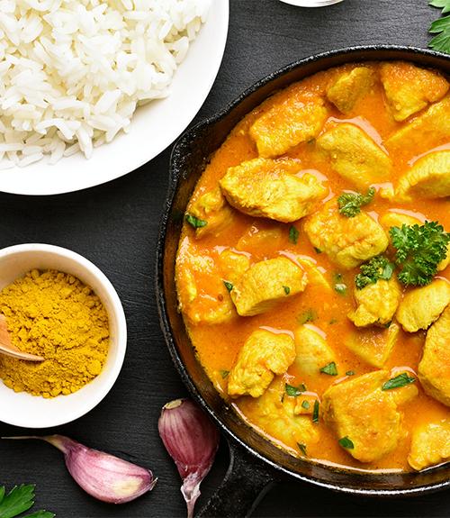 recommandation poulet curry image