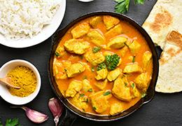 Image recette Jardin BiO étic Poulet curry
