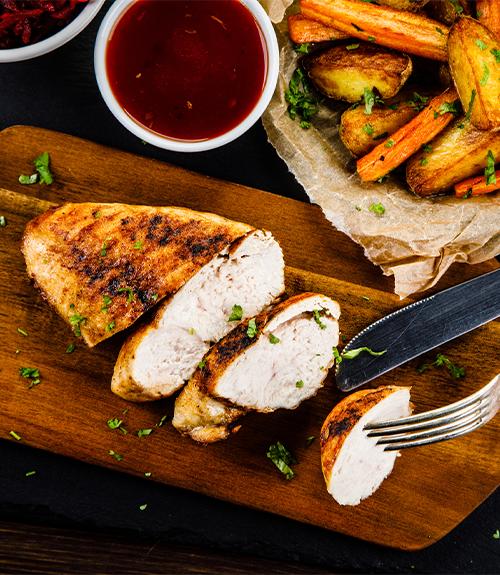 recommandation Jardin BiO étic recette poulet mariné au barbecue
