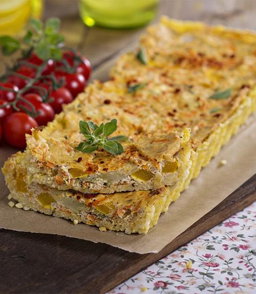 recommandation quiche légumes tofu jardin bio recette