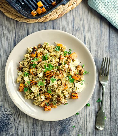 Quinoa butternut recommandation jardin bio