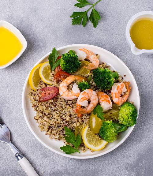 quinoa couscous mer recette jardin bio