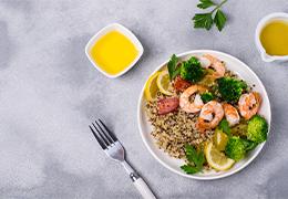 quinoa couscous de la mer recette Jardin BiO étic