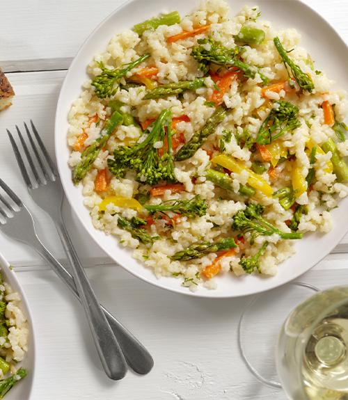 recette risotto légumes petit épeautre jardin bio