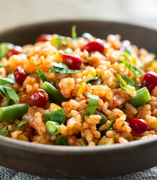 Photo de recommandation recette riz à la mexicain