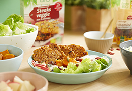 Recette bio salade d'automne