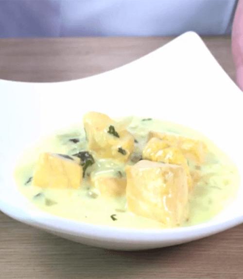 recette saumon coco Jardin BiO étic