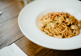 Spaghetti de quinoa aux dés de tofu mariné image miniature recette jardin bio