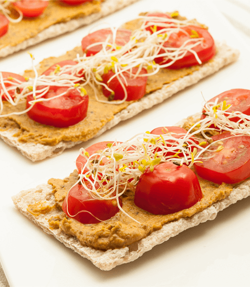 tartinade lentilles gourmande recette jardin bio sans gluten sans lactose