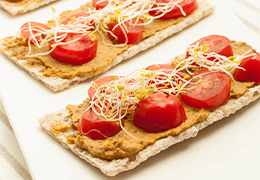 recette r*tartinade lentilles gourmandes jardin bio sans gluten sans lactose