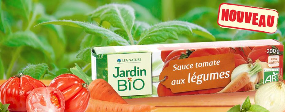 Sauce tomate aux légumes Jardin BiO