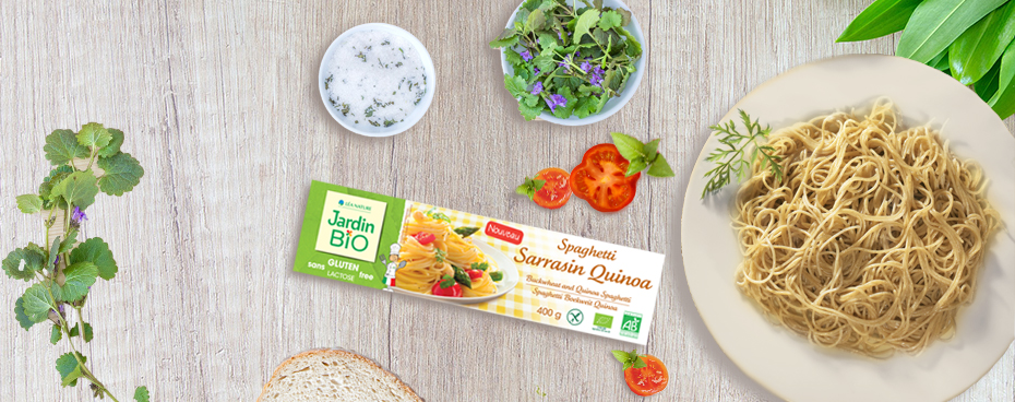 Pâtes sans gluten Jardin BiO étic