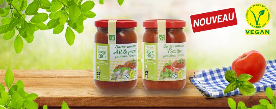 Sauces tomates Bio Jardin BiO
