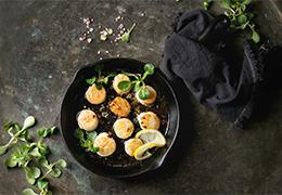 wok de st jacques Jardin BiO étic recette image linsting