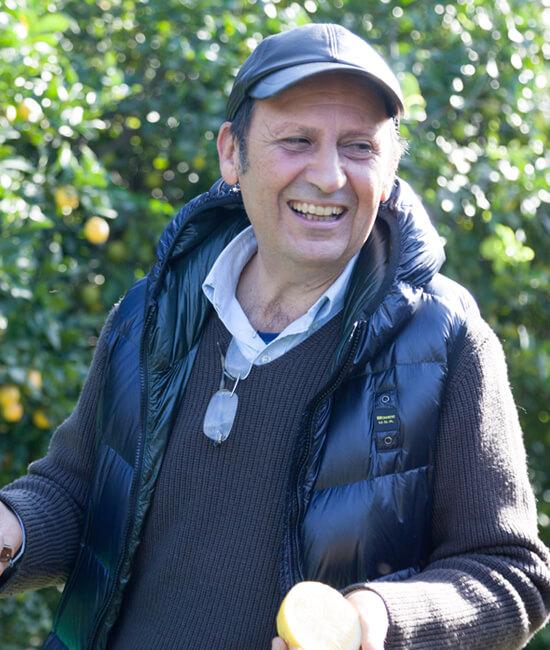 Giuancarlo producteur de citron bio pour Jardin BiO étic
