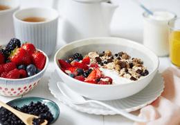 Recette de bowl pour petit déjeuner au muesli Jardin BiO