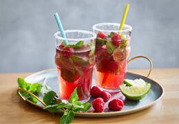Recette de cocktail cosmopolitan Jardin BiO