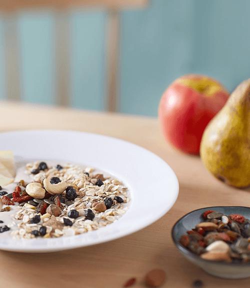 Découvrez la recette de smoothie bowl au muesli amandes Jardin BiO