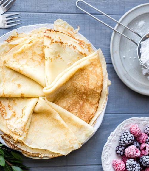 Recette de pâte à crêpes pour la chandeleur