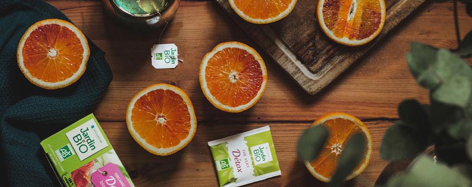 Gagnez nos thés verts bio Jardin BiO