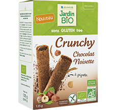 Biscuits crunchy  Chocolat Noisette
