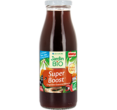 Boisson super boost  Gingembre Guarana Hibiscus