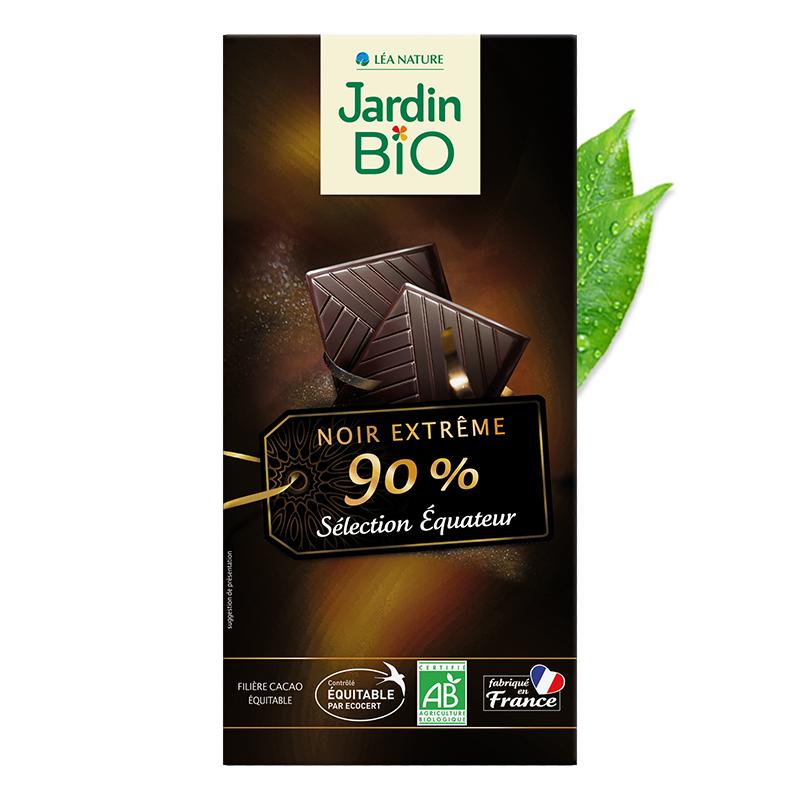 Chocolat noir extrême 90%