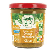 Confiture  extra orange citron mandarine