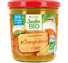 Confiture  extra orange douce
