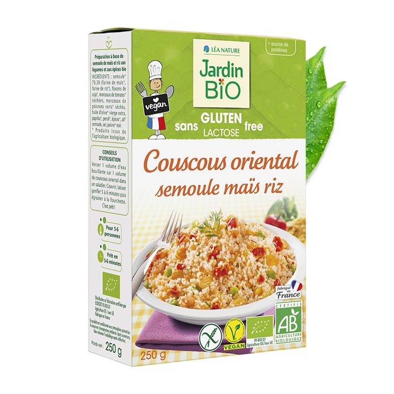 Couscous oriental semoule maïs et riz