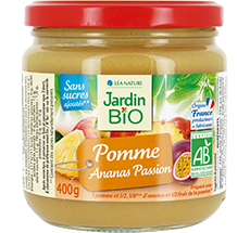 Dessert Biofruits®  Pomme Ananas Passion