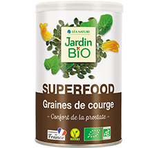 Graines de courge bio super aliment