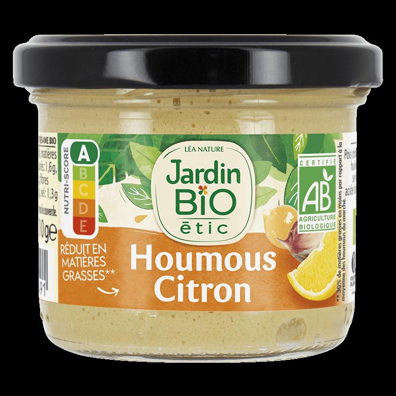 Houmous Citron | Jardin BiO