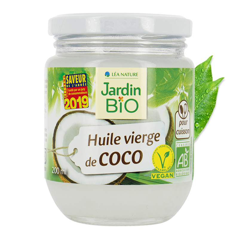 Huile vierge de coco Jardin BiO étic