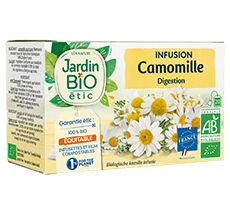 Infusion camomille bio digestion