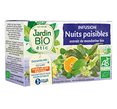 Infusion bio nuits paisibles